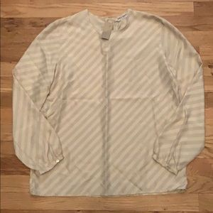 Size 8 Giorgio Armani striped blouse